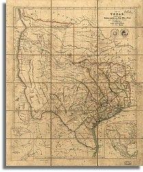 Texas 1841 by John Arrowsmith