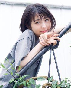 Pin on 浜辺美波 Asian Short Hair, Girl Short Hair, Japanese Beauty, Asian Beauty, Japanese Girls Pictures, Perfect Smile, Cute Korean Girl, Girls Dpz, Kawaii Girl