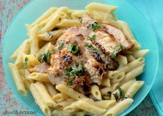 Chicken and Lemon Basil Pasta Recipe