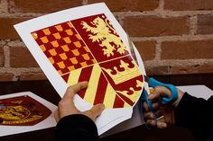 Really awesome free printable house banners for all for houses! Ravenclaw all the way!!