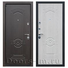Входная металлическая дверь АСД ГЕРМЕС беленый дуб (описание и характеристики):   Коробка двери цельнокатанная, с широким наличником (80 мм). Изготовлена из усиленной стали толщиной 2 мм,  утеплена