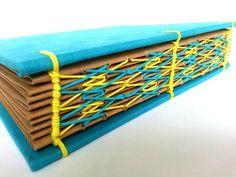 Encadernação artesanal #encadernação #artesanato #couro #papel #arte #copta #…