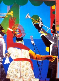 Romare Bearden African American Artist, American Artists, Black History, Art History, August Wilson, Romare Bearden, African Artwork, American Modern, Harlem Renaissance