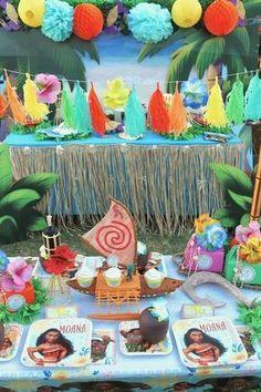 Moana Party Ideas | CatchMyParty.com