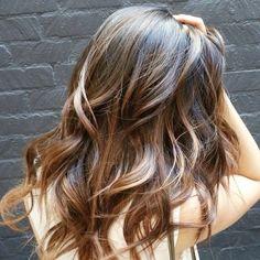 long+shag+haircut+with+balayage+highlights