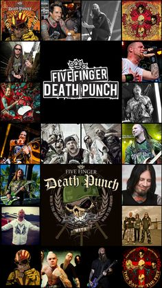 #5FDP #fivefingerdeathpunch #ffdp #heavymetal #bestband #knucklehead #wallpaper #collage