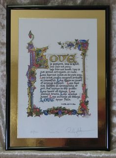 Gifts - Framed Premium Limited Edition Hand Tipped Illuminated Calligraphy Artist Print Medieval Manuscript, Medieval Art, Illuminated Letters, Illuminated Manuscript, Tinta China, Madhubani Art, Book Of Hours, Calligraphy Alphabet, Print Artist