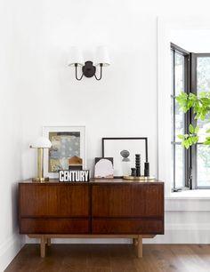 Portland Project: The Living Room Reveal - Emily Henderson Simple Living Room, Living Room Art, Living Room Designs, Living Room Furniture, Kitchen Living, Small Living, Living Spaces, Portland, Classic Furniture