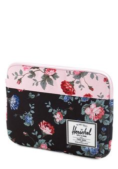 On a Flower Trip iPad Air Sleeve. Youre ready for a road trip adventure with this floral iPad Air sleeve by Herschel Supply Co.!