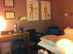 My peaceful treatment room...& it smells good!!