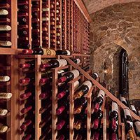 Residential wine rooms are increasing in popularity as a viable wine storage solution. Browse our residential wine rooms we've designed for inspiration. Wine Cellar Racks, Wine Rack, Wine Rooms, Wine Storage, Kitchen Gadgets, Storage Solutions, Room Ideas, Diy, Design