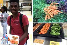 ATLANTA PUBLIC SCHOOL STUDENTS ARE GROWING VEGGIES FOR THEIR SCHOOL CAFETERIA!