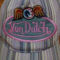 Von Dutch embroidery trucker hat Von Dutch 1443ed89e244