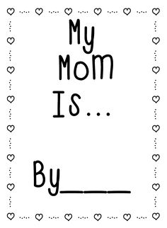 First Grade Wow: Publishing Poetry and Mothers Day Similes