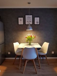 46 What You Do Not Know About Small Dining Room Design Ideas 111 freehomeidea Dining Room Ideas design Dining freehomeidea Ideas Room Small Home Room Design, Dining Room Design, Small Living Dining, Small Kitchen Tables, Small Apartment Interior, Dinner Room, Home Decor Kitchen, Living Room Decor, Room Ideas