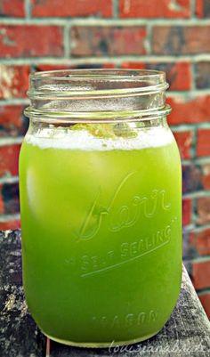 How to Make a Ginger Cucumber Detox Drink #BodyDetoxDrink