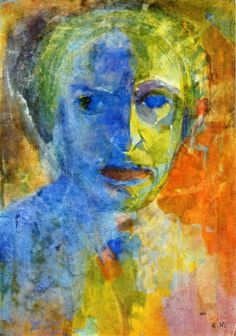 Emil Nolde - Self-Portrait, 1912
