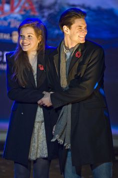 Georgie Henley and Ben Barnes. This picture makes me so happy!