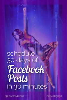 Facebook marketing tips: Learn how to schedule Facebook posts fast and FREE, so you never miss an opportunity to reach your audience. Perfect for solopreneurs and small businesses!