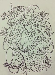 A smaller version of this tattoo on the left side of my left thigh <3 (: