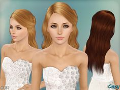 Leah Hairstyle by Cazy for Sims 3 - Sims Hairs - http://simshairs.com/leah-hairstyle-by-cazy/