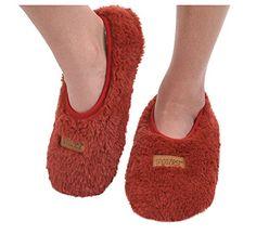 Snoozies Womens Butter Fur Footie Non-Skid Slipper Socks