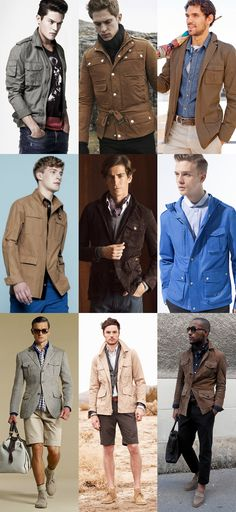 Safari Jackets....none of these guys are him, but they could be