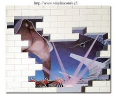 THE WALL - Photo of Pink Floyd Album's Inner Cover