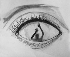 drawings drawing eyes dibujos dark eye lapiz easy sketches sad scary simple pencil cool dificiles dessins sketch faciles inspiration sisters