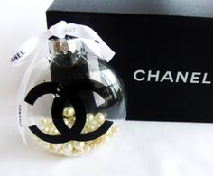 Chanel Christmas ornament