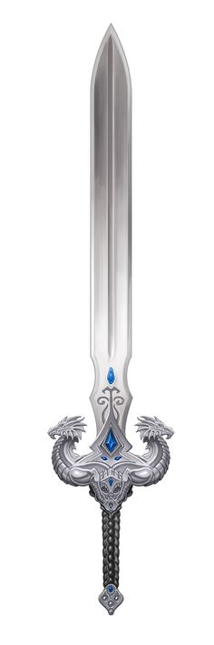 The Silver Talon, a magical long sword found in the dungeon ruins of the manor house by our heroes