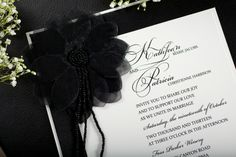 White and Black Wedding Invitations http://www.uniquelyyoursweddinginvitation.com/diywedding-invitations/