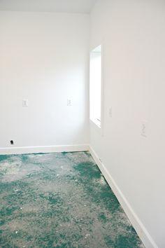 How To Install Laminate Flooring Over Concrete Laminate Flooring Basement, Installing Laminate Flooring, Vinyl Plank Flooring, Creative Studio, Concrete, Outdoor Decor, Home Decor, Decoration Home, Room Decor