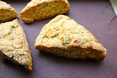 Apple Cheddar Scones with Rosemary | Not Eating Out in New York