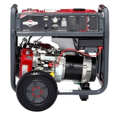 Elite Series Gasoline Powered Electric Start Portable Generator with Briggs & Stratton Engine Best Portable Generator, Portable Inverter Generator, Transfer Switch, Keep The Lights On, Industrial, Rv Hacks, Electric, Engine, Consumer Reports