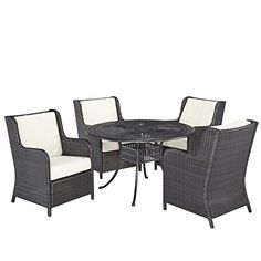 Home Styles 55603205 5Piece Dining Set with Riviera Chairs Charcoal Finish *** Find out more about the great product at the image link.(This is an Amazon affiliate link and I receive a commission for the sales)