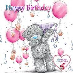 Tatty Teddy © Me to you Tatty Teddy, Birthday Greetings, Birthday Wishes, Birthday Cards, Happy Birthday Bear, Birthday Pictures, Birthday Images, Cute Images, Cute Pictures