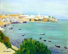 Albert Marquet (1875-1947) Les barques, Tanger