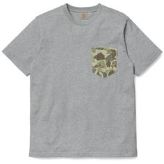 S/S Camouflage Pocket T-Shirt