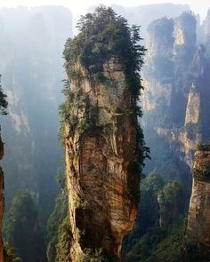 Avatar mountains - zhangjiajie China