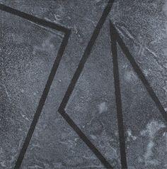 JÓZEF ROBAKOWSKI  Z CYKLU: KĄTY ENERGETYCZNE, 1975 - 2003   tech. własna, płyta / 48 x 48 cm