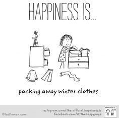 Once I pack these away, there will be happiness. #goawaysnow