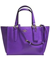 COACH CROSBY MINI CARRYALL IN SMOOTH LEATHER