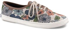 FOREVER 21 Keds Champion Floral Low-Tops