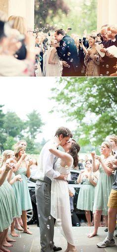 Wedding Bubbles mariée Mme 12 pièces bulles de savon mariage rose décoration de table