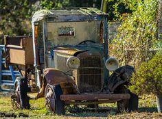 Old Truck at Gambonini Ranch Along The Petaluma-Marshall Road | Flickr - Photo Sharing!