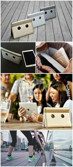 The Onanoff Sound Cover is an iPad stand and cover with built-in flat panel stereo speakers, offering powerful, high quality sound, that boosts your iPad's volume by up to 400%.