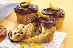 Cupcakes à la Banane et Pépites de Chocolat