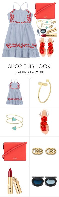 """""""Mini Dress"""" by simona-altobelli ❤ liked on Polyvore featuring Charlotte Olympia, Kate Spade and Gucci Strawberry Summer, Charlotte Olympia, Style Me, Healthy Lifestyle, Bae, Kate Spade, Gucci, Mini, Polyvore"""