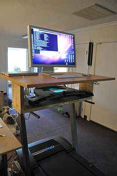 The Treadmill Desk  |  curated by www.workwhilewalking.com